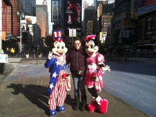 Hangin' with Mickey and Minnie